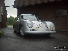 Porsche 356 Outlaw shot in upstate New York