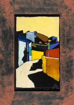 Boris Jirků - Via Sole 2 - Galerijní ulice v Jistebníku - Ostrava - Moravskoslezský kraj Ulice, Painting, Art, Painting Art, Paintings, Kunst, Paint, Draw, Art Education