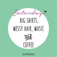 Saturday it is!! #Kapsons #Weekend