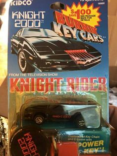 Burning key cars Knight Rider