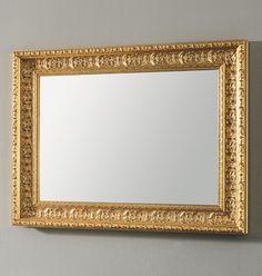 #Eban #specchio Classic | #Vetro e #legno | su #casaebagno.it | #composiozioni #mobili #bagno #arredamento #design