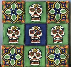 Talavera style tile.  Talavera is my Dad's middle name, don't know why.