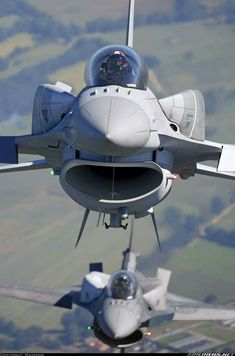 What are those on the sides of these F-16s?