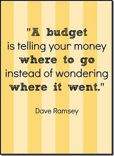 - Dave Ramsey .....Preach!!!