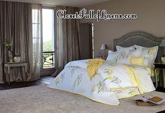 Solstice Duvet Cover Bedding Set by Yves Delorme at ClosetFullofLinens.com #Luxury #DuvetCover #Duvet #Coverlet #Bedding