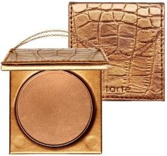 Tarte Park Avenue Princess Bronzer.  Best matte bronzer I've found!  And it's supposedly waterproof!