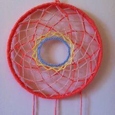 Crochet dream catcher DIY, DREAM CATCHER