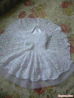 white lace crochet dress in pineapple design  @ Af 3/1/13. TIENE MUCHOS MODELOS ATRÁS. Q UE N A