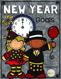 FREEBIE- Here is a fun, simple way for your student to document goals they may have for the new year.