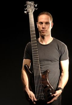 One of the best metal bassists. Mudvayne's Ryan Martinie