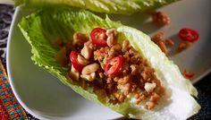 Broileri-maapähkinäsalaatti vietnamilaisittain - K-ruoka