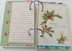 Christmas smash book