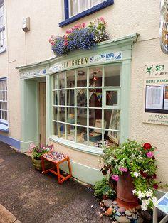 Sea Green, Market Street, Appledore, Torridge, North Devon | by photphobia
