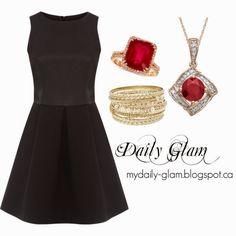 Little black dress - one dress, SO MANY options!