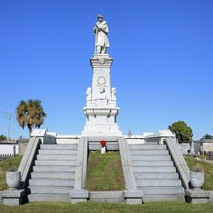 Monument to Confederate Dead Greenwood Cemetery New Orleans Louisiana by teladair, via Flickr