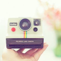 . POLAROID LAND CAMERA ., via Flickr.