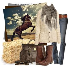 """Are You Outdoorsy?"" by cynthia335 on Polyvore"