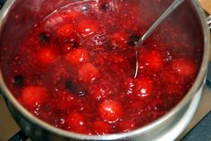 Rode vruchtencoulis (dessertsaus) - Keuken♥Liefde