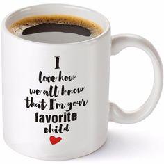 Download 4400 Gambar Lucu Wa Tentang Kopi Terbaru Best Coffee Mugs, Funny Coffee Mugs, Coffee Humor, Letter Mugs, Mug Tree, White Cups, Dad Humor, Large Letters