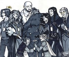 Critical Role Fan Art Gallery – Oh, The Places You Will Go | Geek and Sundry