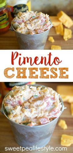Pimento cheese is the easy tailgating recipe you need to make for game day!