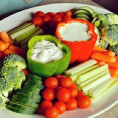Awesome veggie tray...