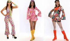 Roupas femininas dos anos 70 - fotos, dicas 13