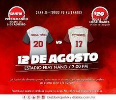 Ciudad de México.– El próximo 12 de agosto se celebrará el Juego de Veteranos de los Diablos Rojos vs Charlie-Toños en el Estadio Fray Nano ...