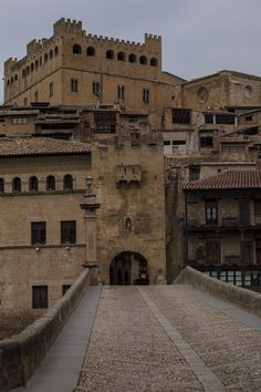 Valderrobres, stone and colour, Spain