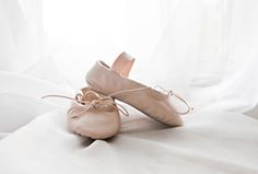 The first pair of ballet shoes is always treasured.