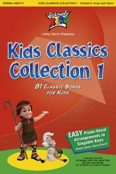 Cedarmont Kids: Kid's Classics Collection 1 Songbook  Piano/Vocal arrangements of 81 Classics children's songs from the Cedarmont Kids CD series.