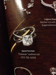 David Yurman Engagement Ring... I want to spend the rest if my life with this ring on my finger...