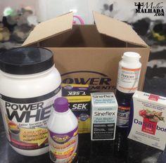 Confira o Super Kit de Suplementos da Power Supplements - Mulher Malhada