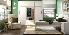 Que tal um quarto verde? Lindo e diferente. Além de tudo, segundo a cromoterapia essa cor acalma. Ótimo para um ambiente de relaxamento.