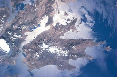 Photos from International Space Station; Greece