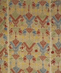 Bed curtain     V&A Search the Collections