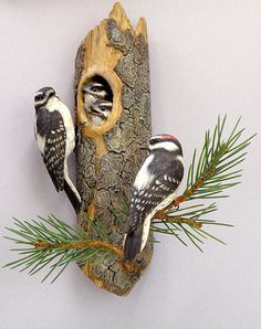 Nature's Creations » Southern Idaho Living wood art carving