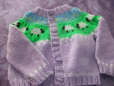 Sheep Jacket - Knitting creation by mobilecrafts