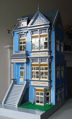 Victorian IIIB: A LEGO® creation by SoftaRae . : MOCpages.com