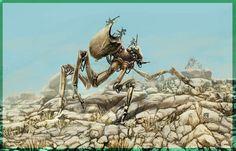 DSG 1407: Sci-Fi • INSECT-LIKE ROBOT HAS BOTH MECHANICAL + ORGANIC ...