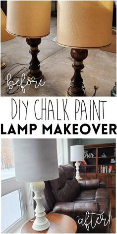 Living Room Lamp Shades, Old Lamp Shades, Painting Lamp Shades, Painting Lamps, Living Rooms, Painted Farmhouse Table, Farmhouse Table Lamps, Paint Lampshade, Make A Lampshade