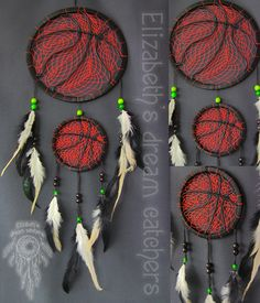 Dreamcatcher - is not just a fashion accessory for an ethnic interior. The Indians attributed this amulet to protect the ability of a sleeping person from evil spirits. This Indian mascot is a spider's web woven from deer lived and harsh thread. Cobweb stretched over a circle made of wicker. To receive the amulet hung a few feathers. Dreamcatcher decided to hang above the headboard.