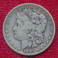 1892 S Morgan dollar semi-key date silver coin Us Silver Coins, Buy Gold And Silver, Canadian Coins, Valuable Coins, Coins Worth Money, Rare Stamps, Silver Bullion, Morgan Silver Dollar, Rare Coins