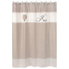 for my g'baby Ewan <3  @Overstock - Little Lamb Kids Shower Curtain - This designer collection sheep and dot pattern adds a touch of style and a splash of color to the bathroom. The easy bathroom makeover can easily pair with coordinating Sweet JoJo Designs room accessories to complete a favorite theme.    http://www.overstock.com/Bedding-Bath/Little-Lamb-Kids-Shower-Curtain/7605139/product.html?CID=214117  CAD              53.77
