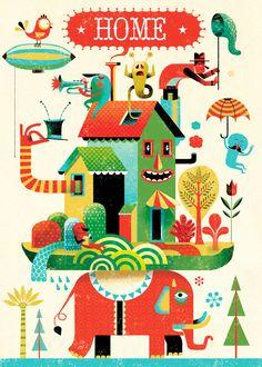 Limited Edition Illustration Poster & Prints | Gwen Keraval
