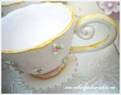 Gum Paste Teacup Tutorial by make-fabulous-cakes