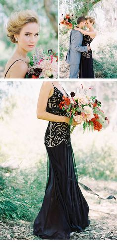 AUTUMN SHOOT, bridal dress: Sue Wong, photo: Mariel Hannah Photo. We got the link to this post a couple months back and I fell in love. Great photos!