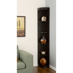 Furniture of America Corner 5-shelf Display Stand - Overstock™ Shopping - Great Deals on Furniture of America Media/Bookshelves