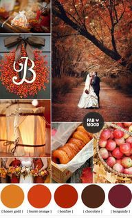 Fall Wedding Color Schemes | Lynden, WA Wedding Photographer