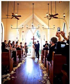 Wedding Chapel Interior at Palmetto Bluff in SC